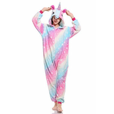 Unicorn Onesie Cosplay [11 Colors] #JU1833-Star Sky Unicorn-S-Juku Store