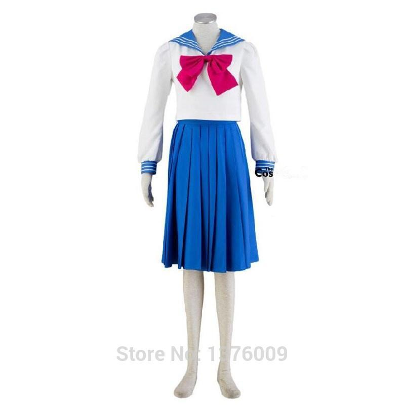 Usagi Tsukino Cosplay Costume School Uniform Seifuku [Sailor Moon] #JU2100-S-Juku Store