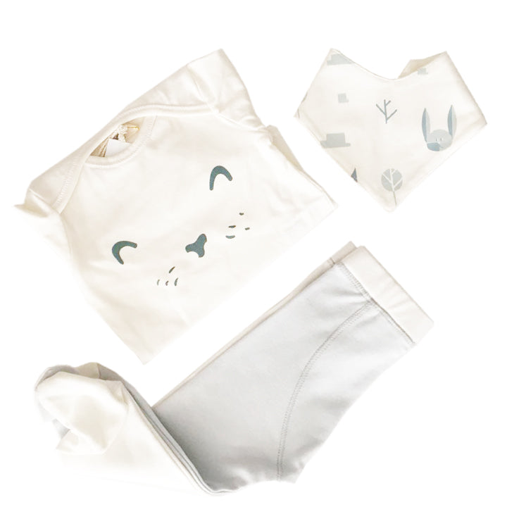 Set de regalo Bunny / Pilucho + leggings + badana