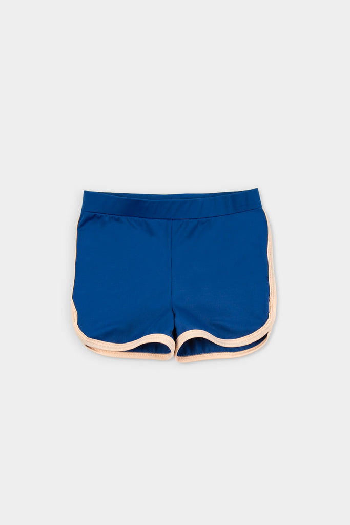 Eco Friendly  RETRO BLUE SHORT + BAG