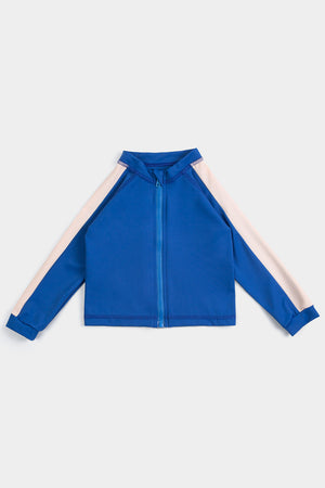 Eco Friendly RETRO BLUE RASHGUARD + BAG