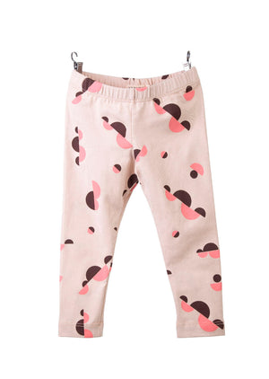 GEO CLOUDS LEGGINGS / PINK