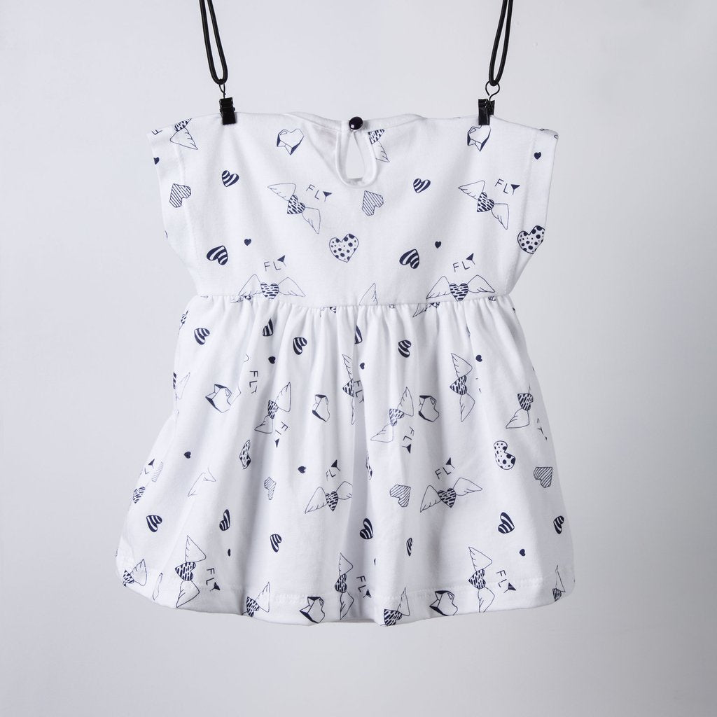 HEART DRESS / WHITE
