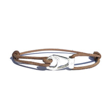 Bracelet Apala - Cuir Chesterfield Naturel
