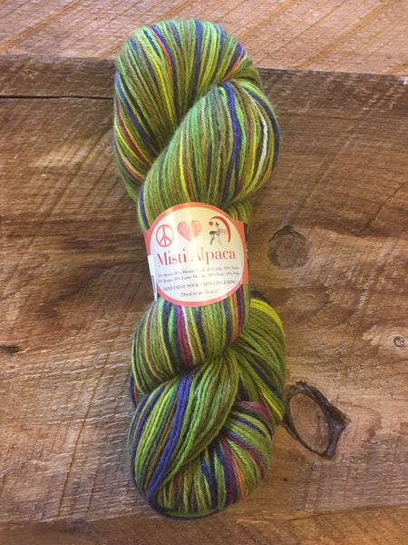 Misti Alpaca Yarn - Hand Paint Sock/Fingering