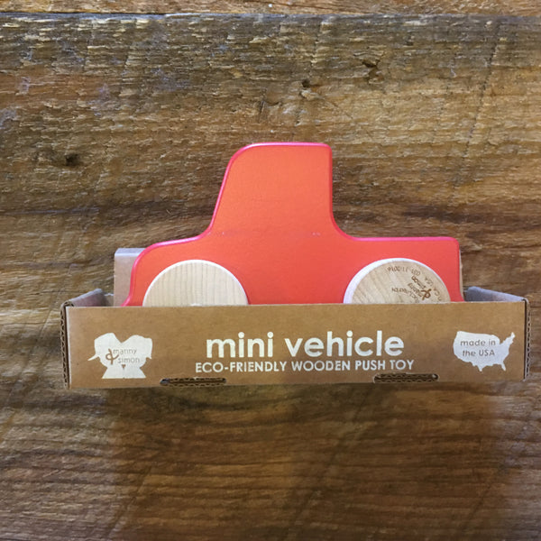 Wooden Car Push Toy (Various)