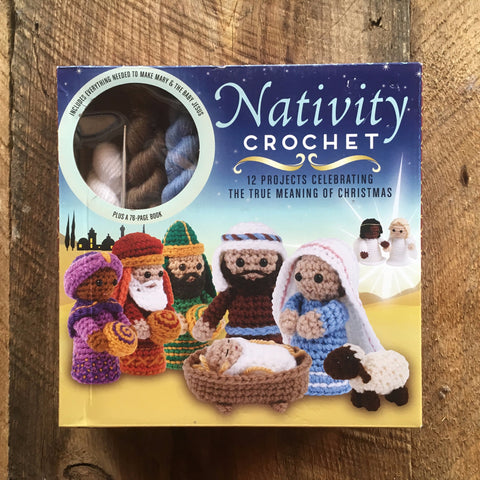Holiday Gifts - Crochet Kit (Hook, yarn, and book)