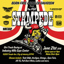 Born-Free and Harley Davidson Present The Fox Stampede