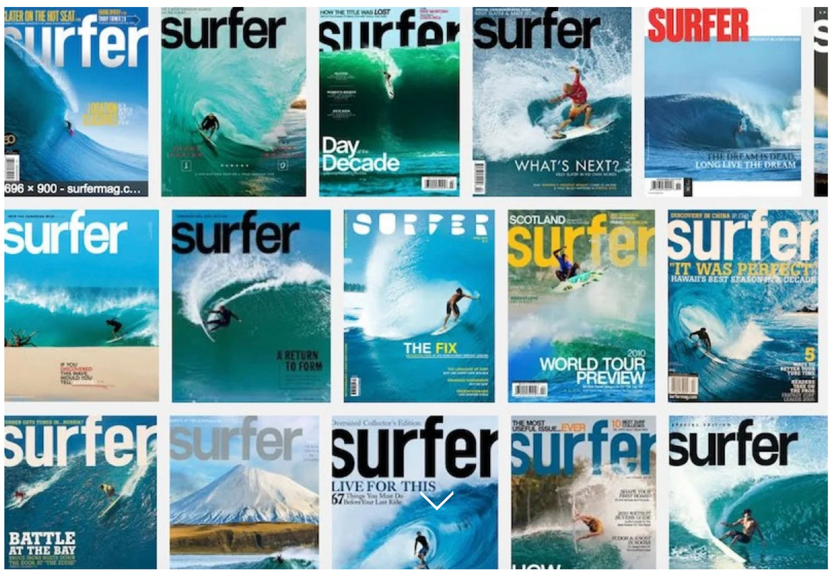 Surfer Magazine Shuts Down - Grant Ellis Goes To The Journal