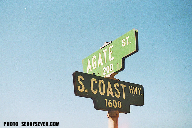 agate street sign