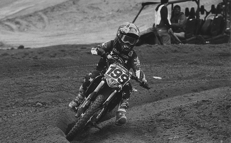 Ryan Difrancesco number 199 motocross racer