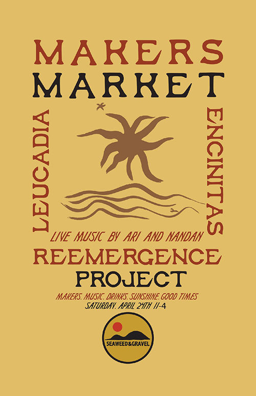 seaweed and gravel makers market
