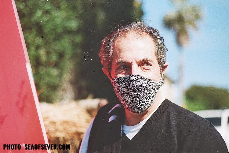 man wearing a mask during covid