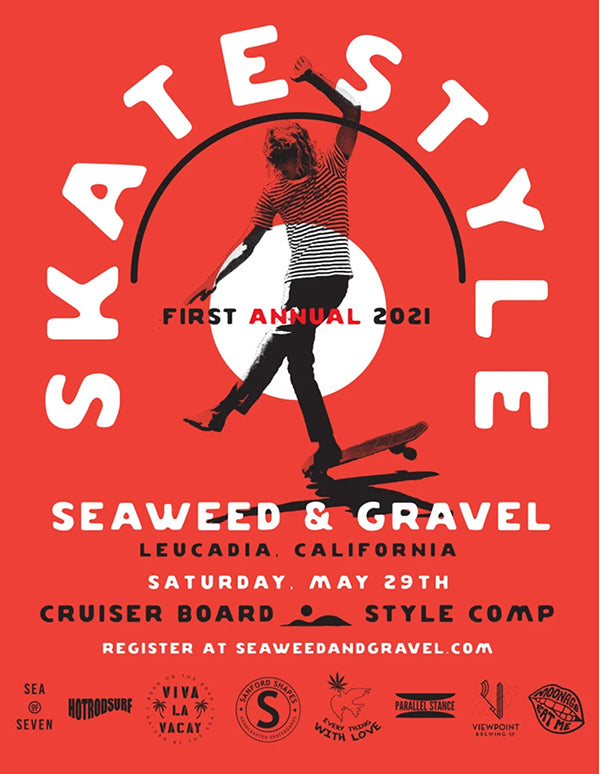 seaweed and gravel skate style contest