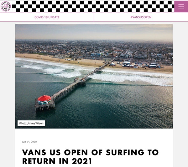 vans us open of surfing in huntington beach