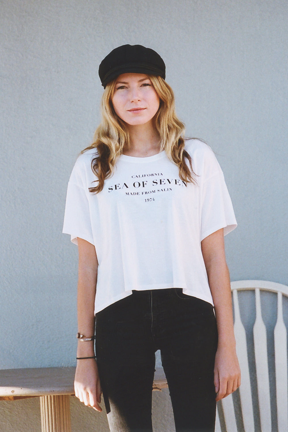 Sending Out An SOS Flowy Boxy Tee