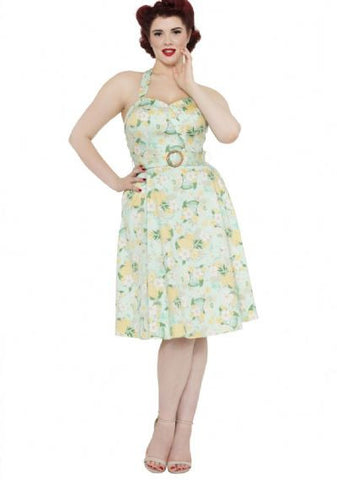LAYLA - TROPICAL DREAM FLARE DRESS