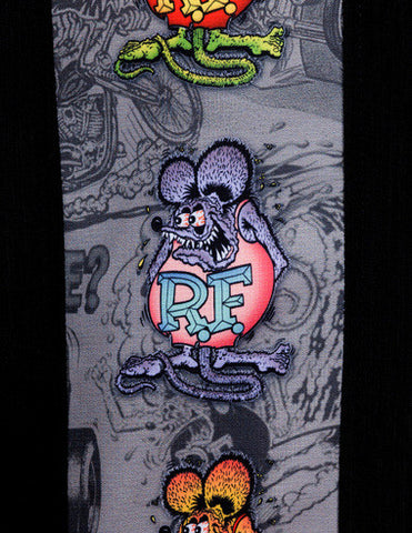 Rat Fink Five Finks Button Up