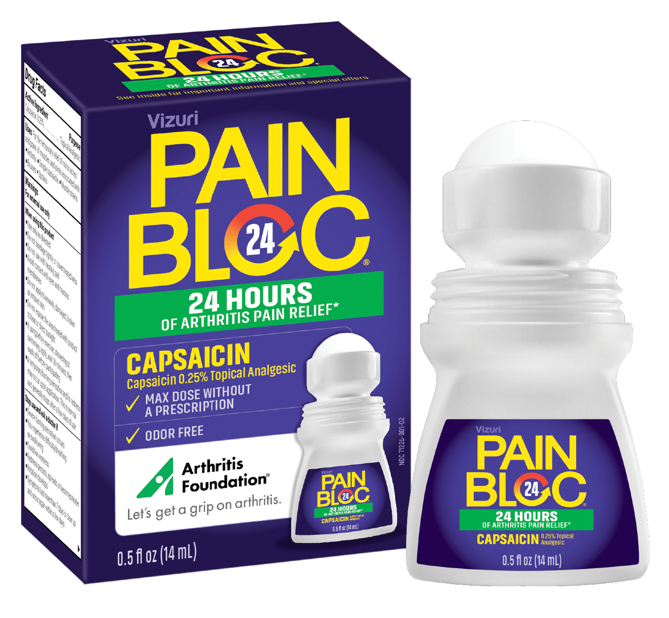 Painbloc Packaging