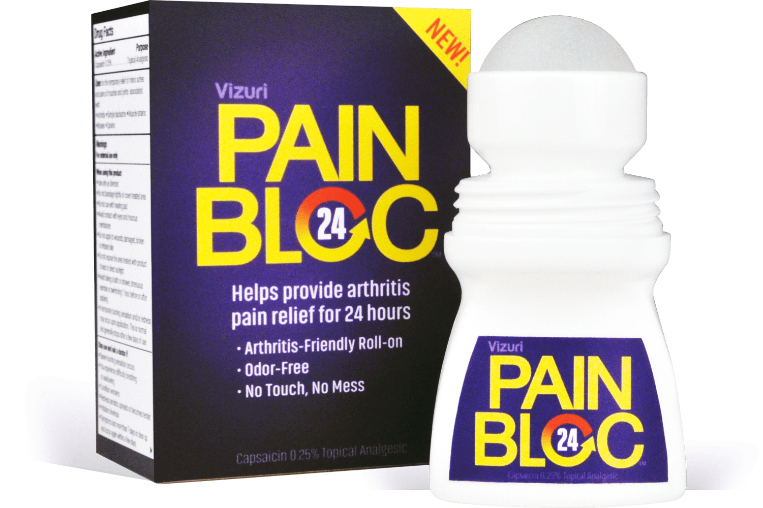 Welcome to PainBloc24®