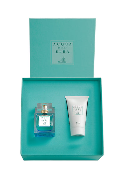 Blu Donna Gift Set: 50ml Eau de Parfum with Body Lotion