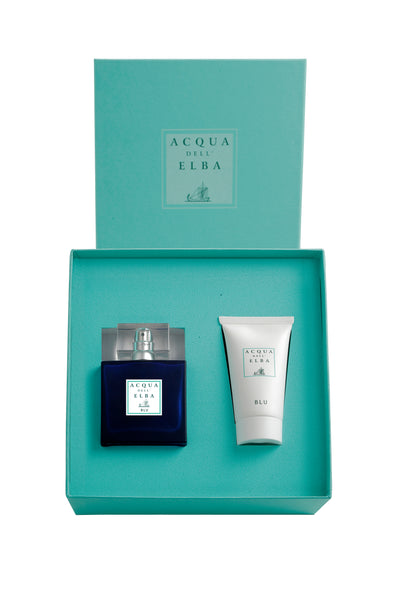 Blu Uomo Gift Set: 50ml Eau de Parfum with After Shave Lotion