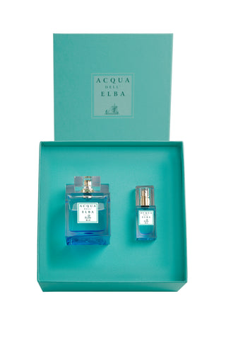 Blu Donna Gift Set: 100ml Eau de Parfum with 15ml Travel Size