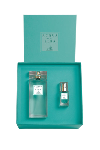 Classica Donna Gift Set: 100ml Eau de Parfum with 15ml Travel Size