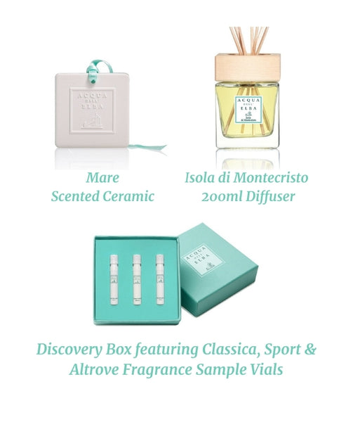 Essence of Acqua dell'Elba Diffuser Welcome Set for Him