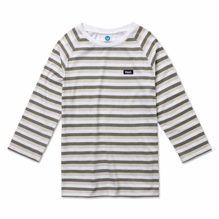 Three Quarter Stripe Tee