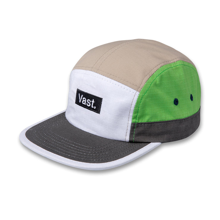 Color Block 5 Panel Hat