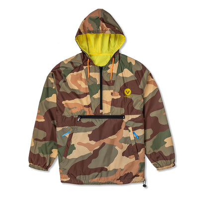 Camo Reversible Windbreaker