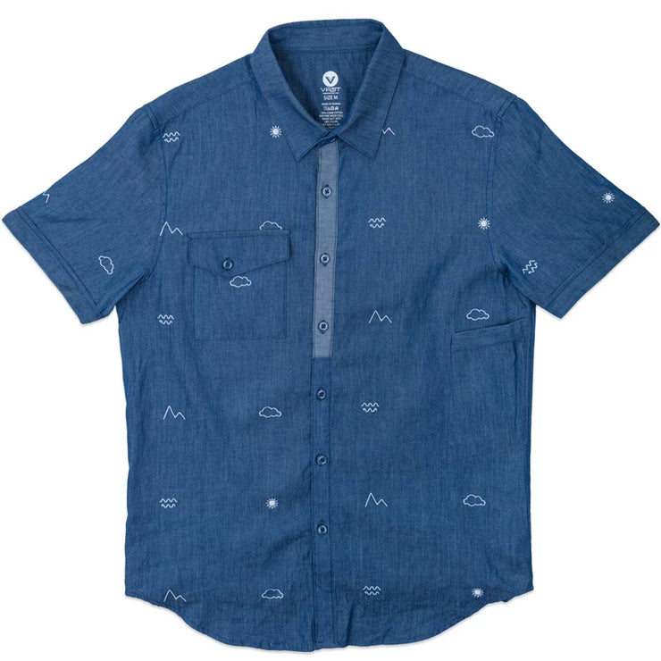 Elements Chambray Button Up