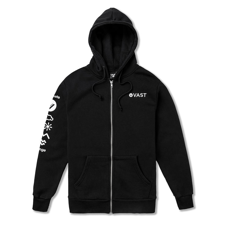 Climate Change Zip Up