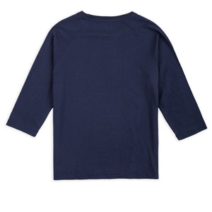 QUARTER SLEEVE TEE