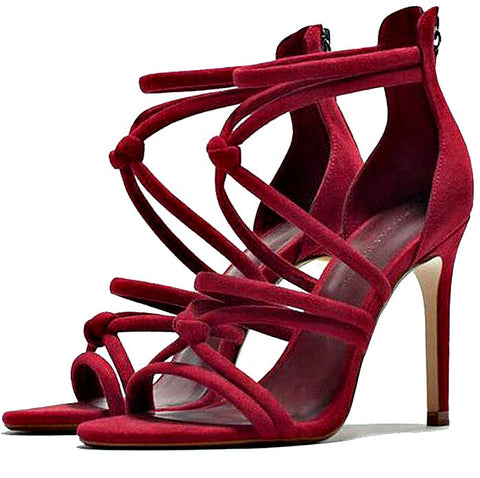 2017 Gladiator Women's Strappy High Heels