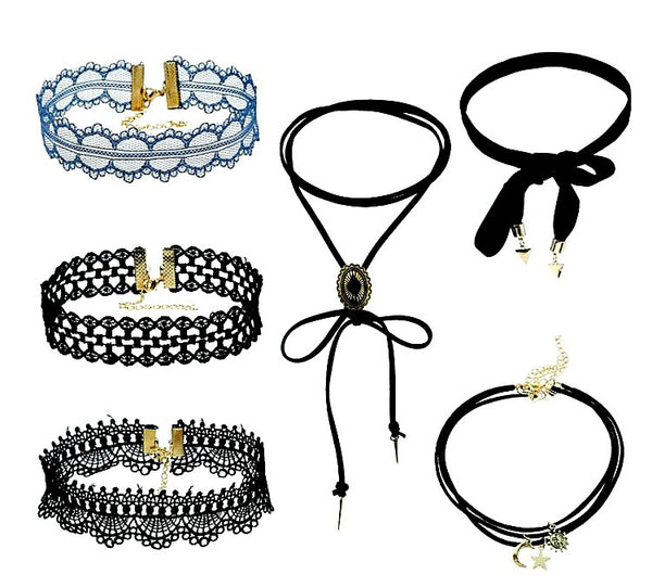 Black Velvet Choker Necklaces