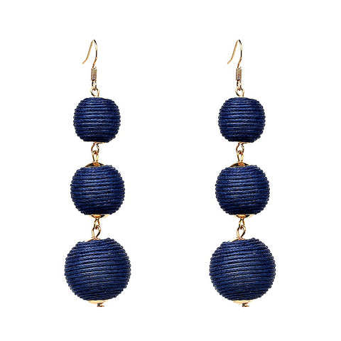Jujia Ball Drop Earrings