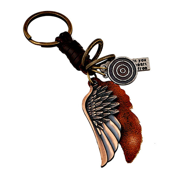 Vintage Leather Keychain