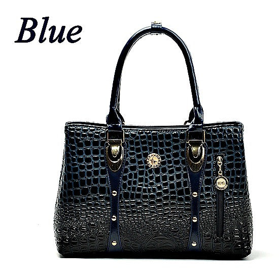 Chispaulo Women's Alligator Leather Tote
