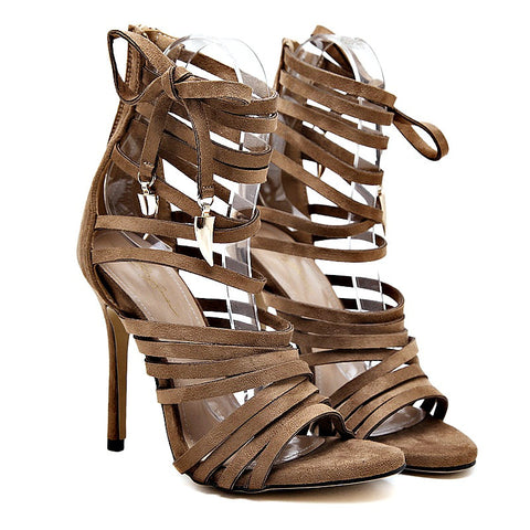 2017 New Gladiator High heels