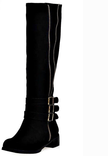 2017 Knee High Motorcyle Boots