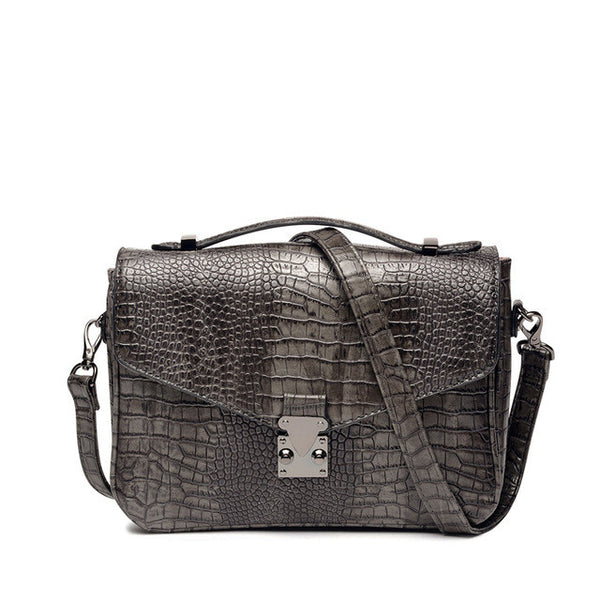 Amelie Galanti Serpentine Crossbody Bag