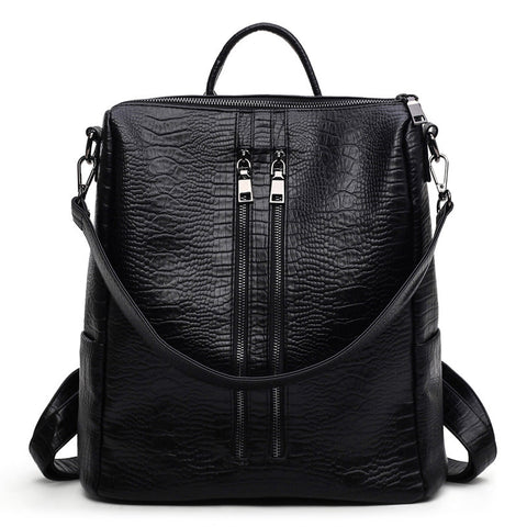 Alligator Leather Backpack