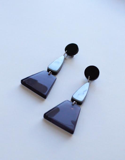 Rachel Comey Dismount Smokey Earrings