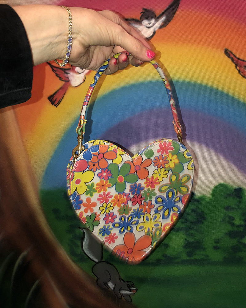 Cab Collection Heart Flower Power Bag