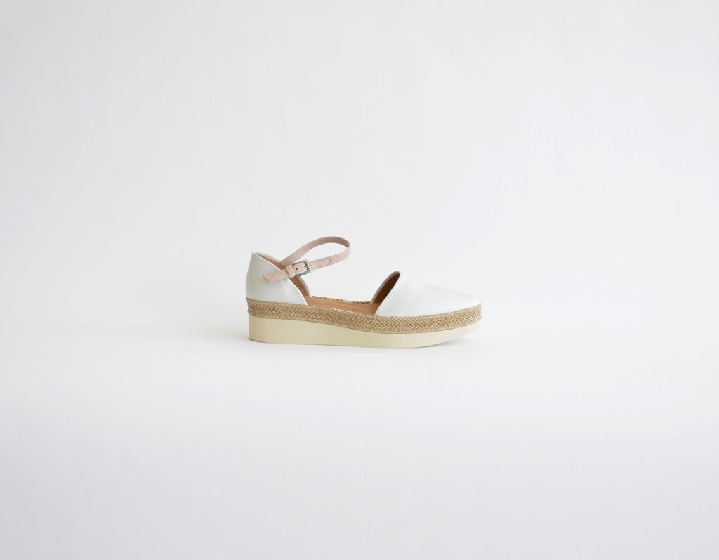Coclico Pop-Up wedge platform made in spain italian leather