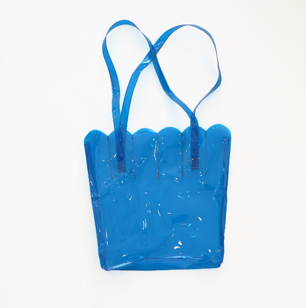 CAB Collection Shell Tote Blue
