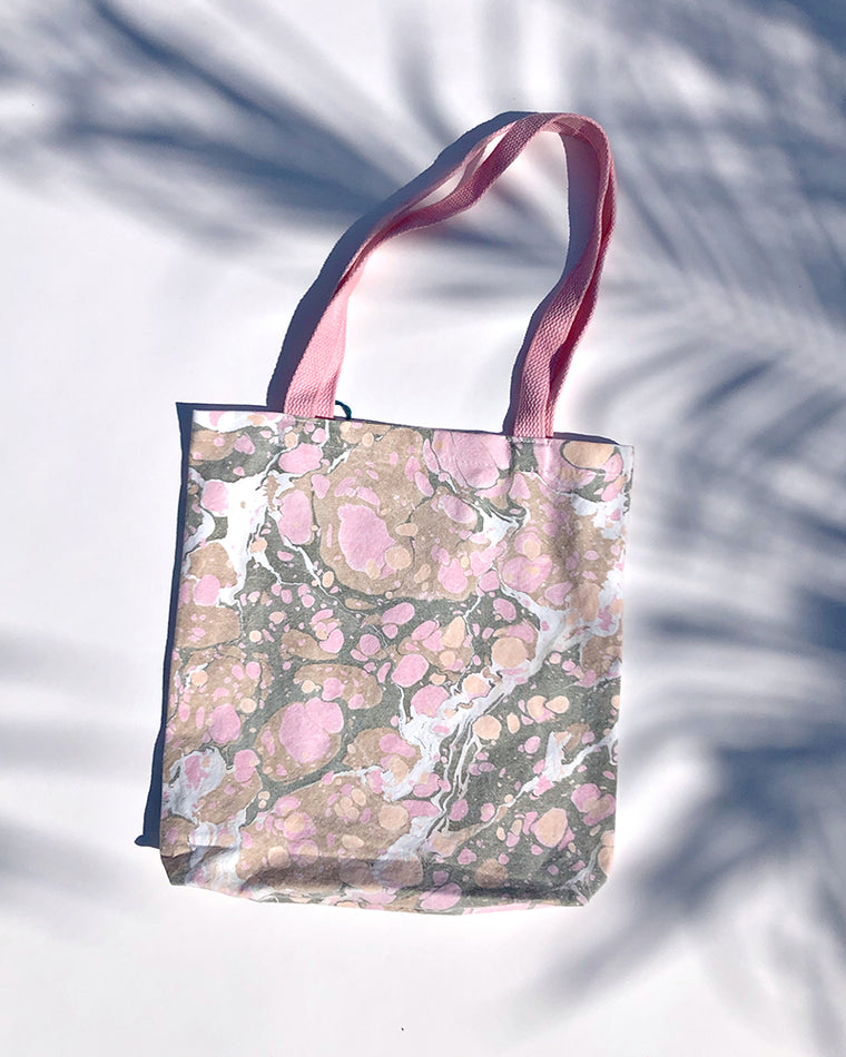Christin Ripley Marbled Tote Bag