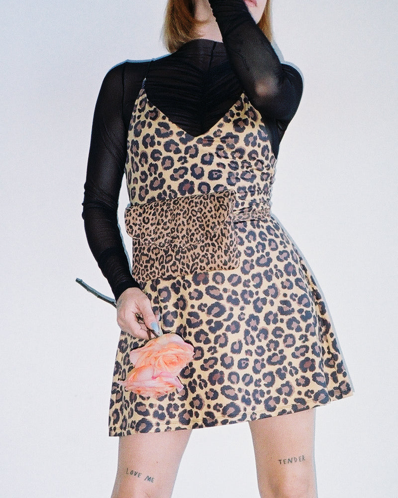 CAB Collection Fanny Pack Leopard